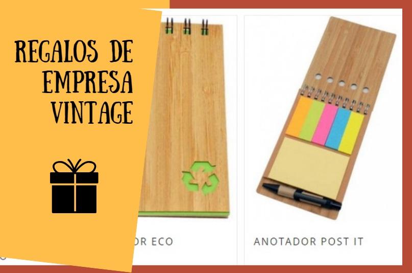 regalos empresa vintage