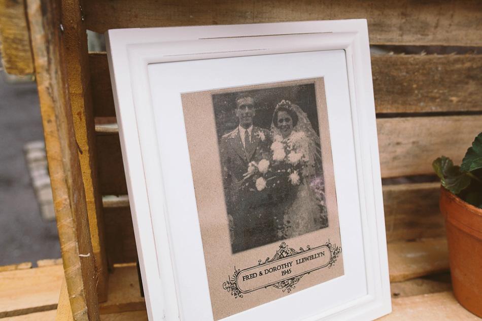 boda clasica vintage