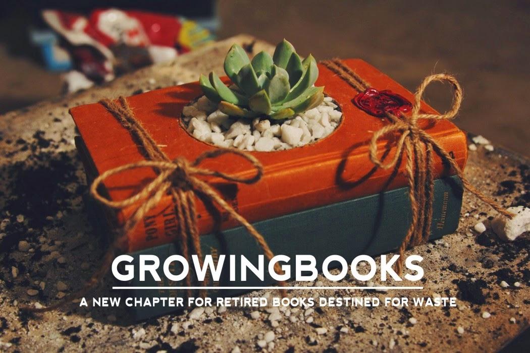 Ideas creativas para reciclar libros.