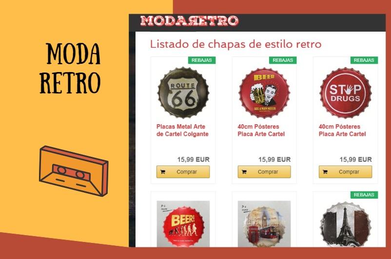 Modaretro, tu tienda especializada en artículos Retro y Vintag