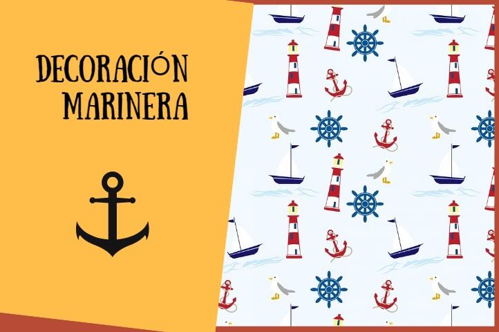 decoracion marinera vintage