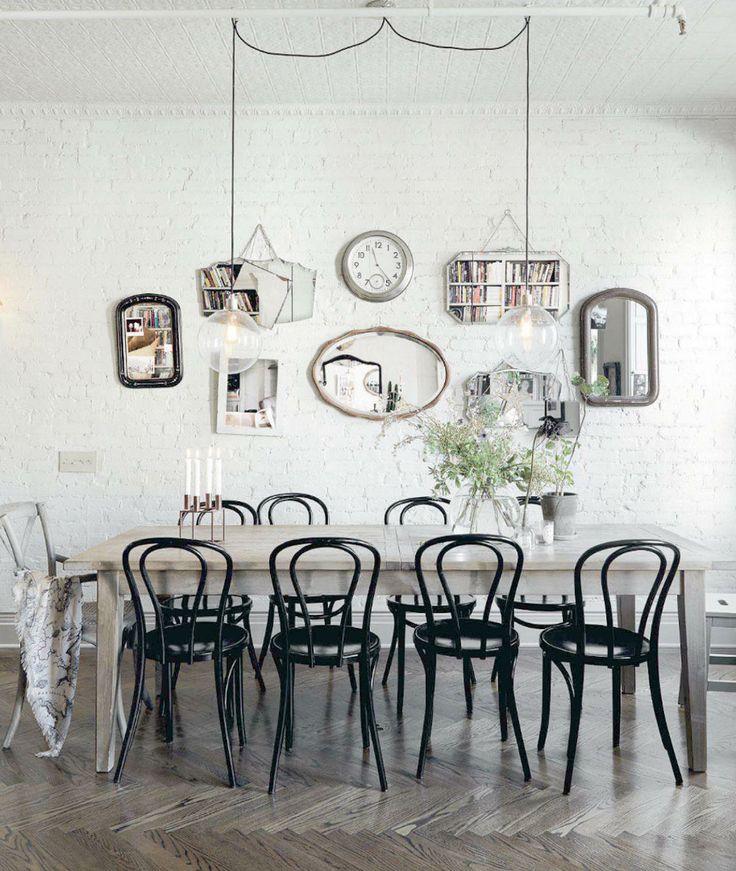 Algunos consejos para una decoración de comedores vintage inspiradora