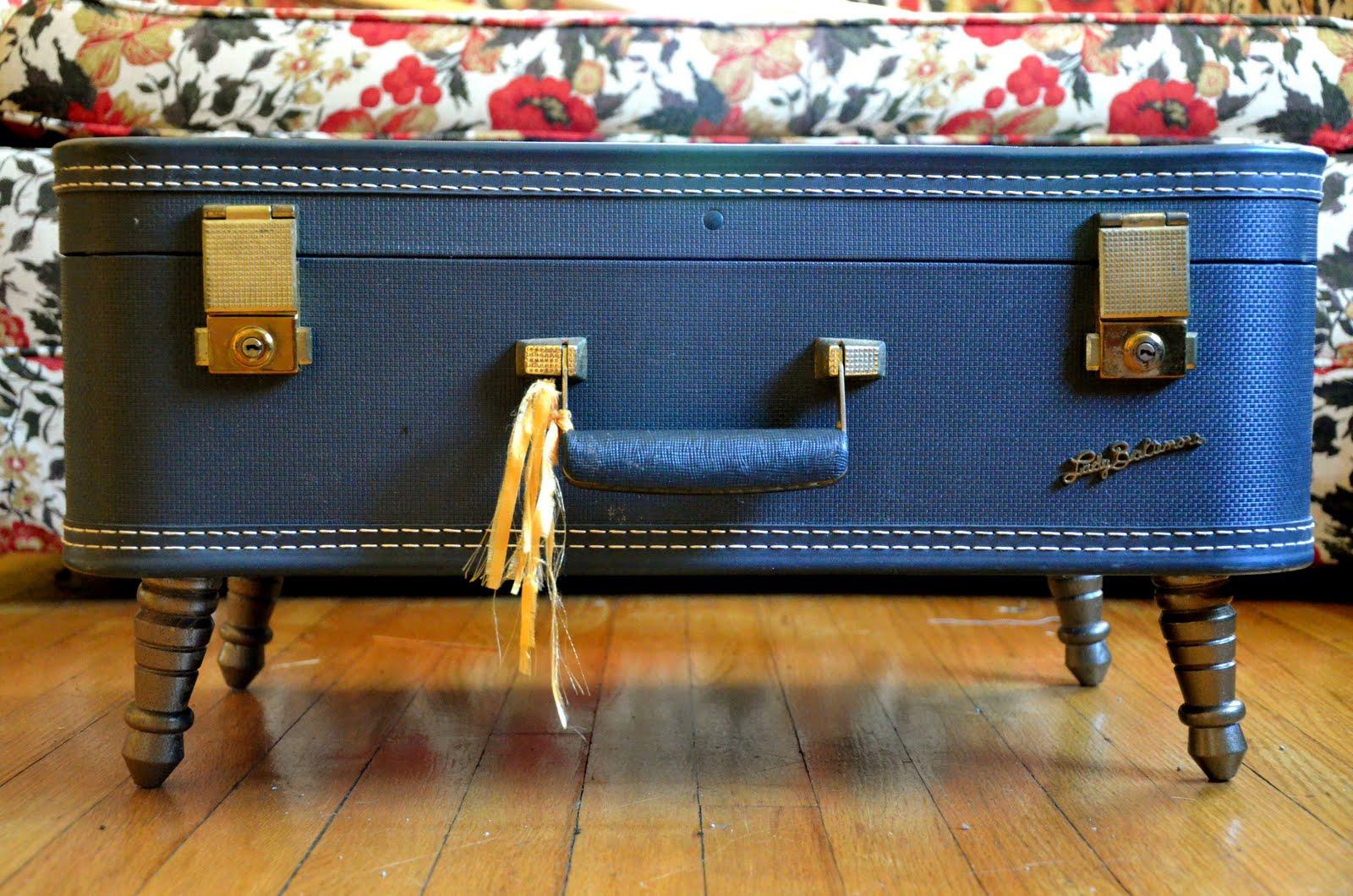 Maletas vintage: 3 proyectos DIY para reciclar maletas antiguas