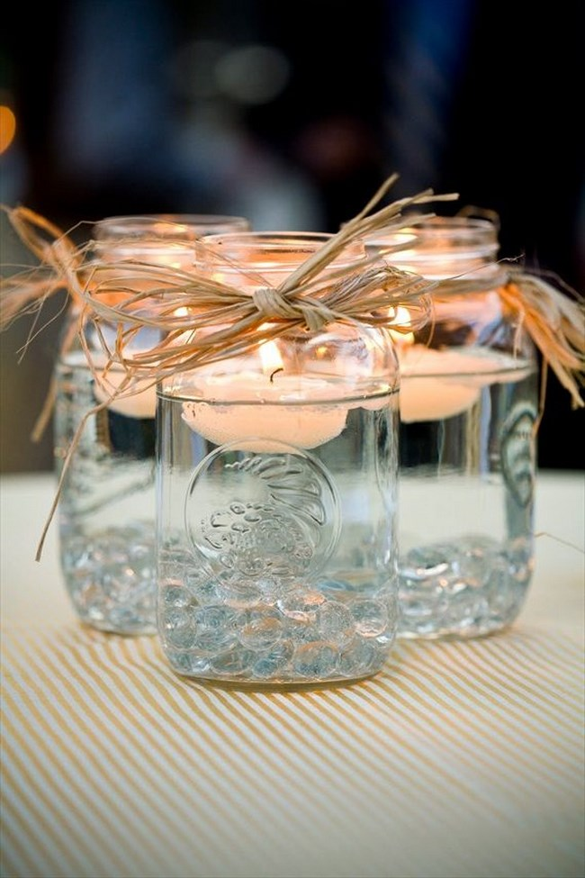 5 centros de mesa para boda vintage
